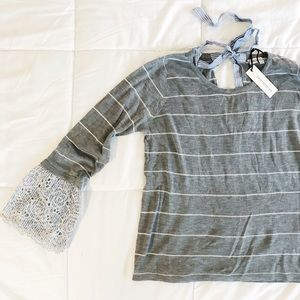 Sweater w/ Sleeve Detail